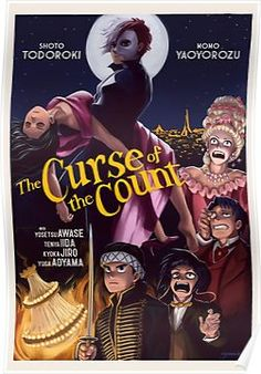 The Curse of the Count Poster