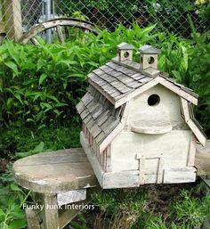 Funky Junk Interiors: Funky bird homes