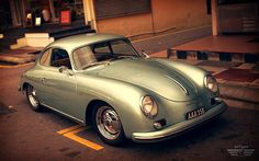 givemecars:  Porsche 356A 1600 Super Coupe (by anType)