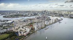 How Greenwich Peninsula will look in the not to distant future.