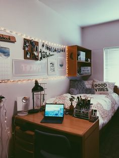 My dorm room at San Francisco State University