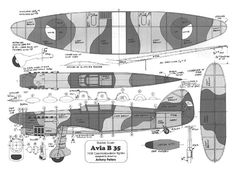 Avia by Anthony Peters - plan thumbnail Balsa Wood Models, Vintage Models, Rc Model, Model Airplanes, Aircraft, How To Plan, Aviation, Plane, Airplane