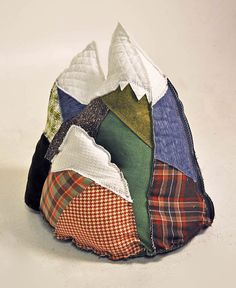 mountain pillow...this would make a great door stop.