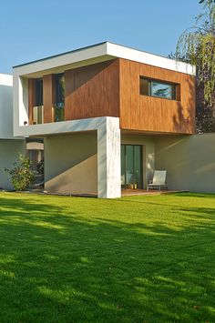 Contemporary House in Bordeaux by Hybre Architecte