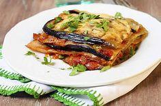 gezonde lasagne met aubergine