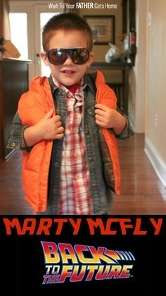 Marty McFly! | Wait 'til Your Father Gets Home #KidsCostumes #Halloween #BacktotheFuture