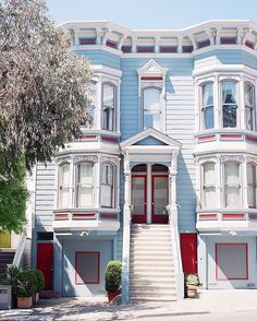 Happy Memorial Day from San Francisco! Best Travel Hashtags, Happy Memorial Day, Great View, One Kings Lane, Victorian Homes, Decor Styles, Architecture Design, San Francisco, New Homes