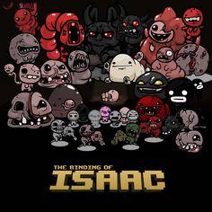 Binding of Isaac. my new favorite game its kinda hard but really fun ^-^