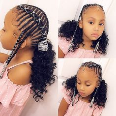 Top 60 All the Rage Looks with Long Box Braids - Hairstyles Trends Black Kids Braids Hairstyles, Lil Girl Hairstyles, Natural Hairstyles For Kids, Braids For Black Hair, My Hairstyle, Updo, Natural Hair Styles, Curly Hairstyles, Hairstyles For Children