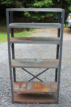 Why you shouldn't pass up that rusted bookshelf at a garage sale