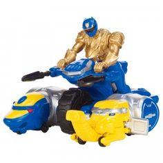 Power Rangers Megaforce Ultra Blue Ranger Zord Vehicle