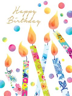 Happy Birthday shared by eladvi on We Heart It Happy Birthday Art, Happy Birthday Wishes Cards, Birthday Wishes Quotes, Happy Birthday Images, Birthday Pictures, Birthday Fun, Birthday Cards, Vintage Birthday, Happy B Day