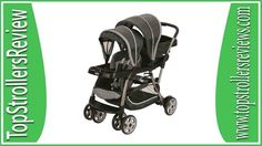 Graco Duo Stroller (Glacier) & Click Connect 35 Car Seat (Gotham) Stroller-ing has never been so functional and so cool before. The Graco Twin Strollers, Double Strollers, Cheap Strollers, Travel Stroller, Jogging Stroller, Running Strollers, Best Double Stroller, Umbrella Stroller, Pram Stroller
