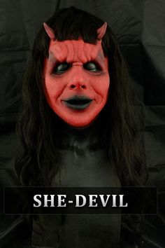 Horror Masks, Halloween Face Makeup, Movie Posters, Art, Art Background, Film Poster, Kunst, Performing Arts, Billboard