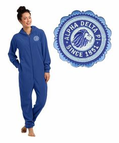 Alpha Delta Pi Fleece Lounger SALE $29.95. - Greek Clothing and Merchandise - Greek Gear®
