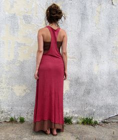 The Long Sioux Dress (hemp/organic cotton knit)