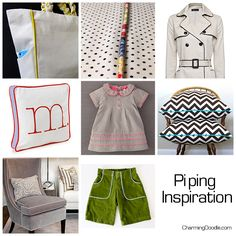How to Make Your Own Piping   by Charming Doodle
