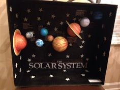 Solar System Diorama - Project with my 2nd grader