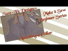 Tutorial 23 Beginning Sewing Series Make it Sew – How to sew Collars by ...