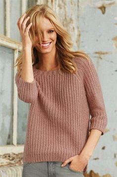 Схема вязания свитера английской резинкой фото 321