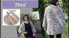 easy crochet cocoon cardigan tutorial - YouTube