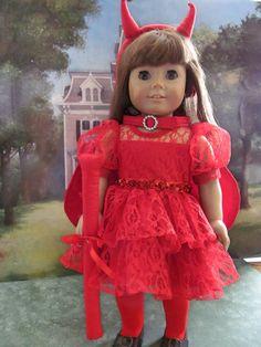 Teufel Kostüm Halloweenkostüm Kleid Kostüm von fashioned4you