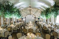 """""""A Midsummer Night's Dream"""" Inspired Knoxville Wedding at the Cherokee Country Club - MODwedding"""