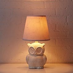 Not So Nocturnal Owl Lamp  | The Land of Nod