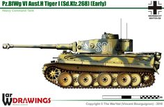 Sd.Kfz.268 Pz.BfWg VI Ausf.E Tiger (late production model)