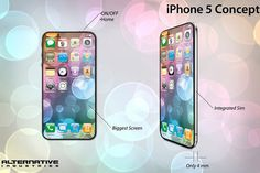 dreaming iPhone 5 ...