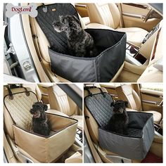 DogLemi 2 in 1 Delux Pet Seat Cover Waterproof Dog Car Front Seat Crate Cover