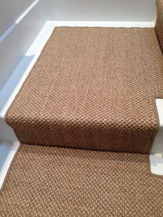 Client: Private Residence In West London. Brief: To Supply U0026 Install Sisal  Carpet. Sisal CarpetCarpet StairsStair LandingHallway ...