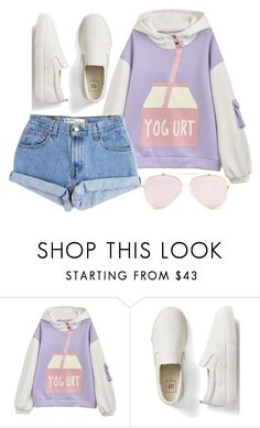 """Me"" by poison-princesss ❤ liked on Polyvore featuring Levi's and Gap"