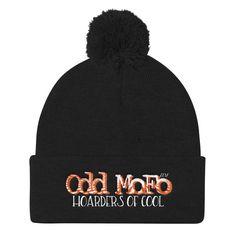 OM Winter Pom Pom Knit Cap