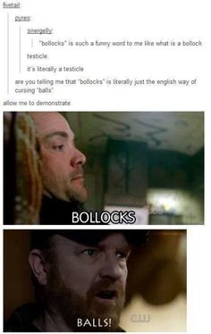 It didn't cross my mind that people outside the uk may not know what bollocks means