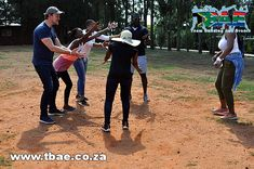 Fitch Solutions Walk On The Wild Side Amazing Race team building Pretoria