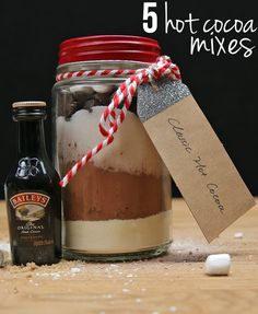 5 Hot Cocoa Mixes Pe
