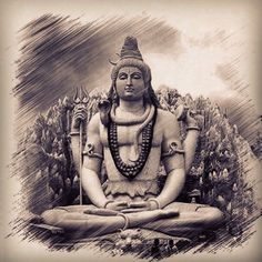 Lord Shiva is the god of the yogis. He is self-controlled,and remains unmarried.