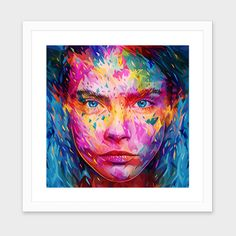 """""""Cara"""", Numbered Edition Fine Art Print by Alessandro Pautasso - From $25.00 - Curioos"""