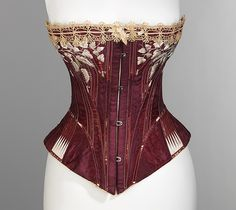 1876, silk on cotton, American, collection of Metropolitan Museum of Art