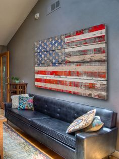 American Dream (Reclaimed Wood) by Parvez Taj