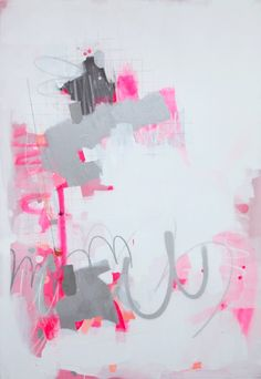 "Saatchi Online Artist: Fede Saenz; Acrylic, 2012, Painting ""Number 18"""
