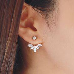 Fashion Casual High Quality  Zircon Earrings#516169