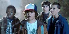 Confira as fotos do set de filmagem de 'Stranger Things' da segunda temporada