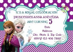 Disney Frozen Invitation and Party Package Printable and
