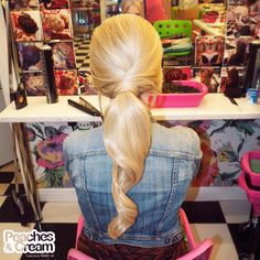 """Soft and sleek pony ! This has to be a new fave at Peaches """