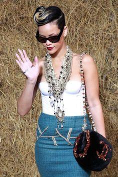 68 Fashion Branded Styles: Rihanna Style 2010