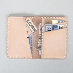 100% Genuine Italian Vegeable tanned leather credit card case bank card case fashion credit card holder hot sale id card holder $75.00