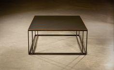 SLATE BINATE COFFEE TABLE by novocastrian.co #table #sidetable #coffeetable #metal #metalfurniture #craft #madeinbritain #handcrafted #metalwork #steel #blackenedsteel #design #interiors #detail #slate #deco #brass