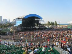 FirstMerit Bank Pavilion at Northerly Island - Seating Chart View - We have Tickets to all shows!